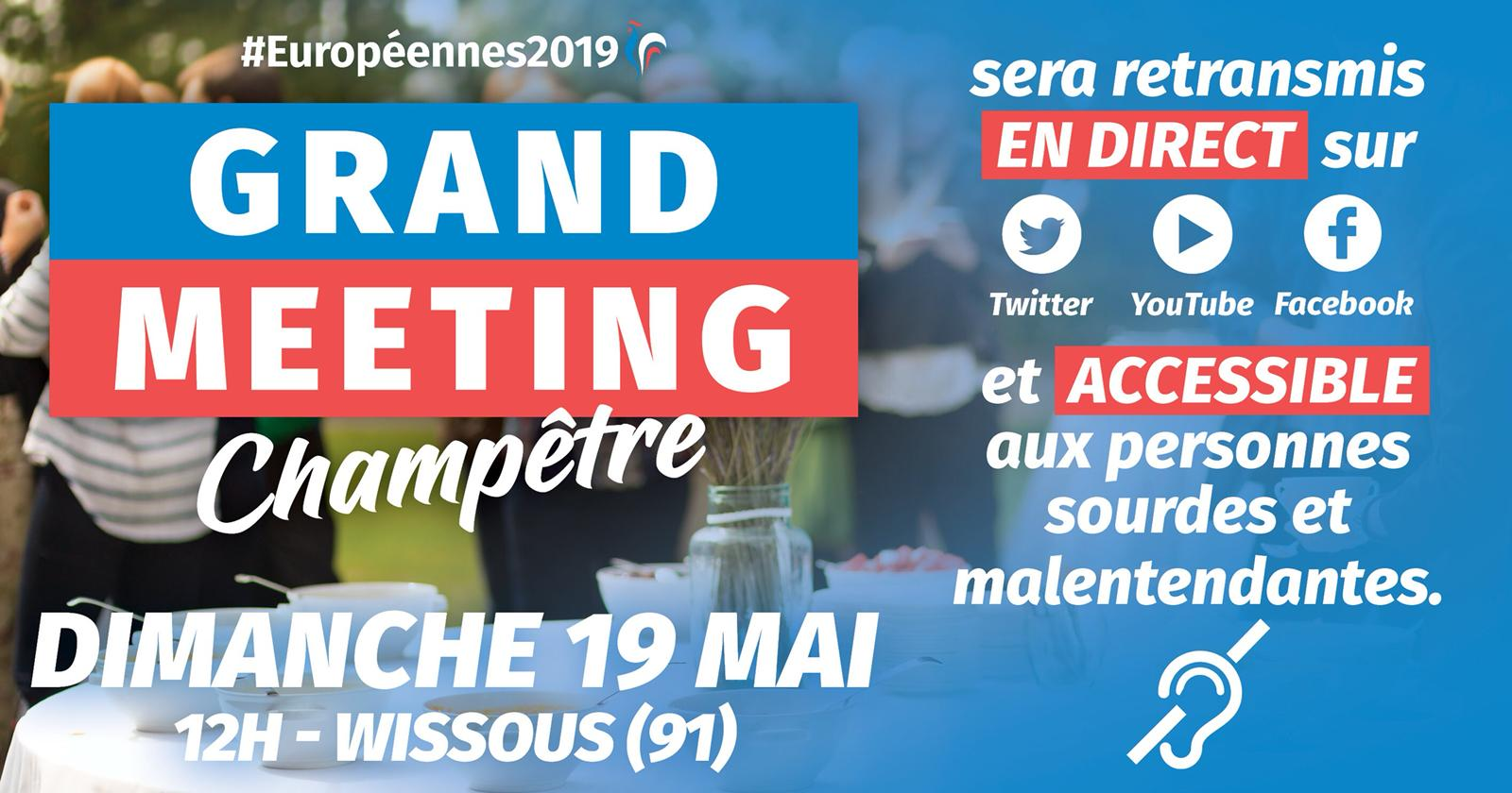 Grand meeting champêtre à Wissous - LIVE